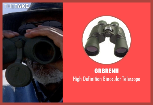 GRBRENH telescope from Transcendence seen with Morgan Freeman (Joseph Tagger)