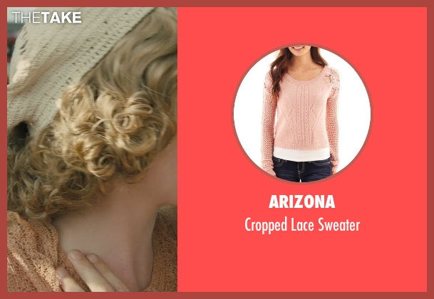 Arizona pink sweater from Unbroken seen with Morgan Griffin (Cynthia Applewhite)