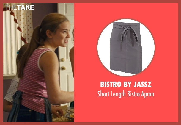 Bistro By Jassz apron from McFarland, USA seen with Morgan Saylor (Julie White)