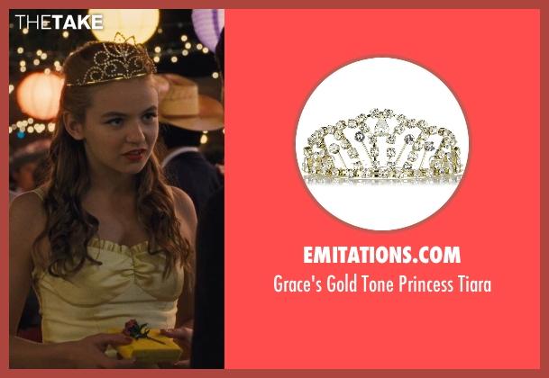 Emitations.Com tiara from McFarland, USA seen with Morgan Saylor (Julie White)