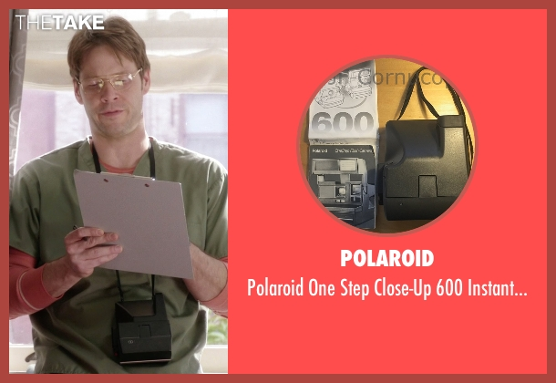 Polaroid camera from The Mindy Project seen with Morgan Tookers (Ike Barinholtz)