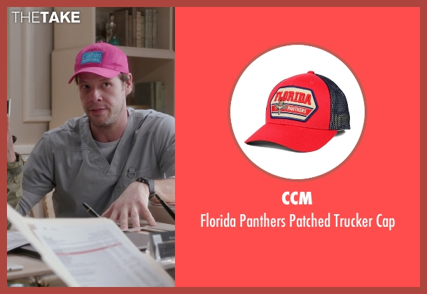 CCM red cap from The Mindy Project seen with Morgan Tookers (Ike Barinholtz)