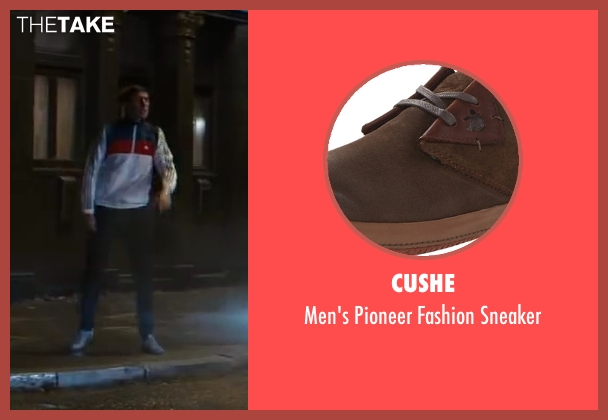 Cushe brown sneaker from Kingsman: The Secret Service seen with Morgan Watkins (Rottweiler)