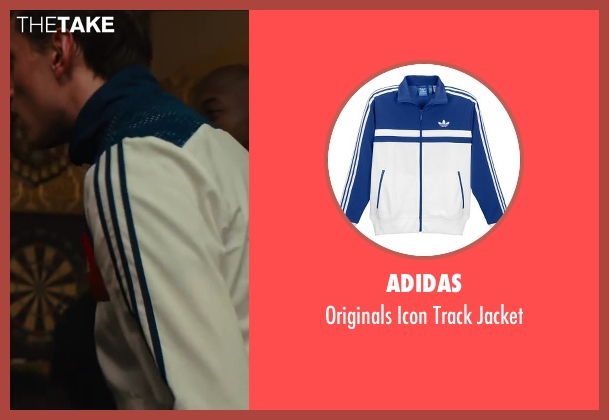 Adidas white jacket from Kingsman: The Secret Service seen with Morgan Watkins (Rottweiler)
