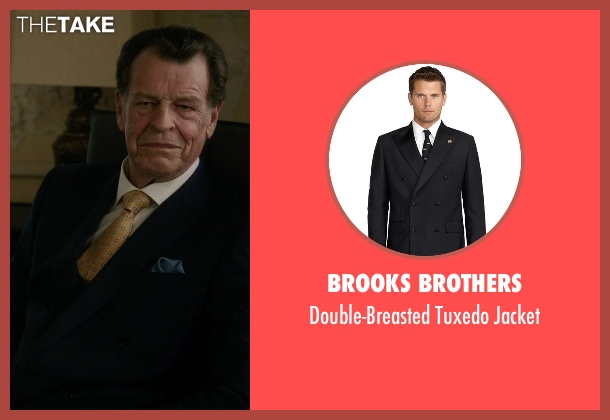 Brooks Brothers black jacket from Elementary seen with Morland Holmes (John Noble)