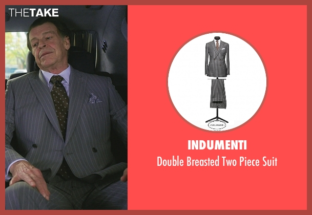 Indumenti gray suit from Elementary seen with Morland Holmes (John Noble)