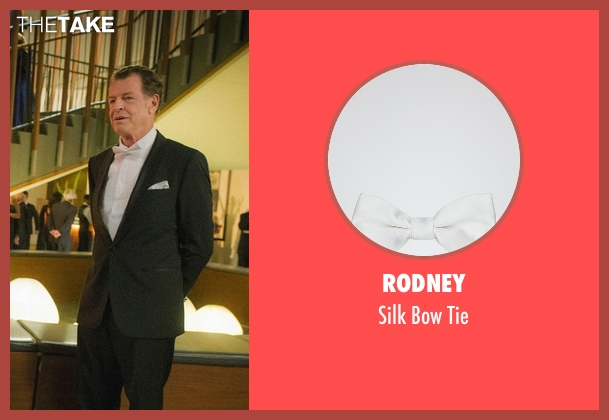 Rodney white tie from Elementary seen with Morland Holmes (John Noble)