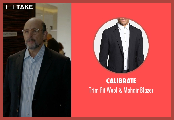 Calibrate black blazer from Ballers seen with Mr. Anderson (Richard Schiff)