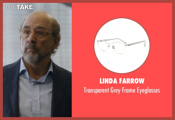 Linda Farrow eyeglasses from Ballers seen with Mr. Anderson (Richard Schiff)