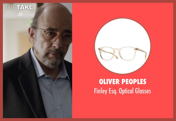 Oliver Peoples glasses from Ballers seen with Mr. Anderson (Richard Schiff)