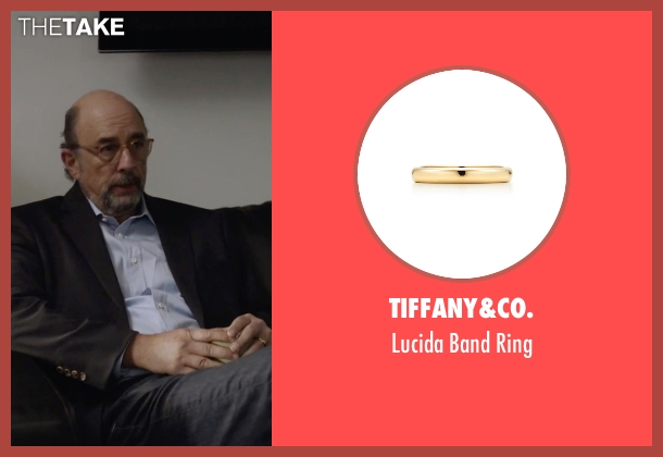Tiffany&Co. gold ring from Ballers seen with Mr. Anderson (Richard Schiff)