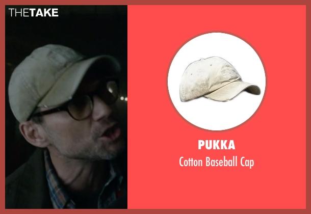 Mr. Robot's Beige Pukka Cotton Baseball Cap from Mr. Robot ...