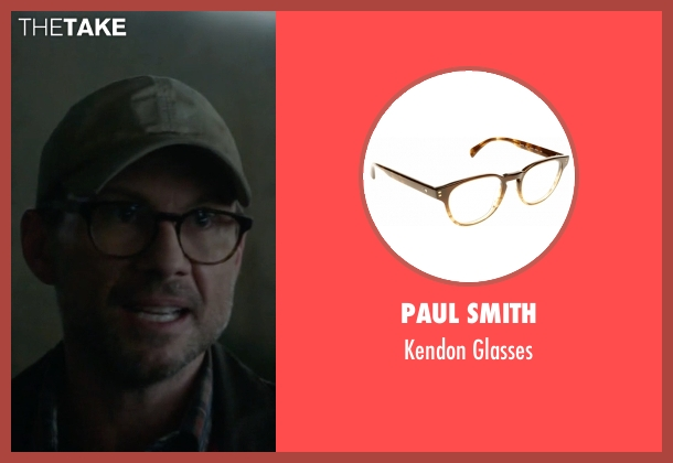 Paul Smith brown glasses from Mr. Robot seen with Mr. Robot (Christian Slater)