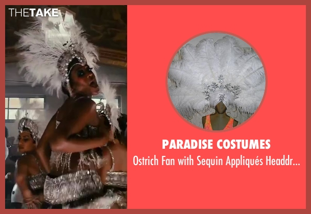 Paradise Costumes headdress from The Great Gatsby seen with Nancy Denis (Foxy Baker / Speakeasy Dancer)