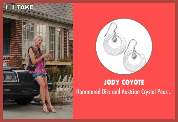 Jody Coyote earrings from St. Vincent seen with Naomi Watts (Daka)