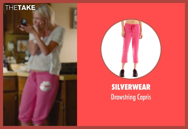 Silverwear pink capris from St. Vincent seen with Naomi Watts (Daka)