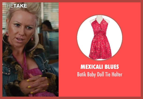 Mexicali Blues pink halter from St. Vincent seen with Naomi Watts (Daka)