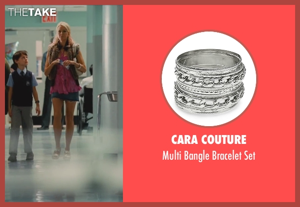 Cara Couture silver set from St. Vincent seen with Naomi Watts (Daka)