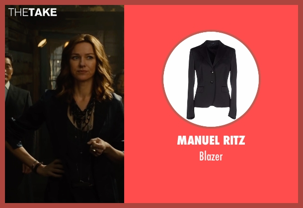 Manuel Ritz black blazer from The Divergent Series: Allegiant seen with Naomi Watts (Evelyn)