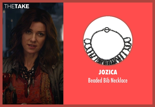 Jozica black necklace from The Divergent Series: Insurgent seen with Naomi Watts (Evelyn)