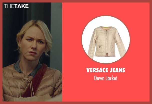 Versace Jeans beige jacket from While We're Young seen with Naomi Watts (Cornelia)