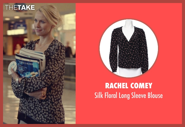Rachel Comey black blouse from While We're Young seen with Naomi Watts (Cornelia)