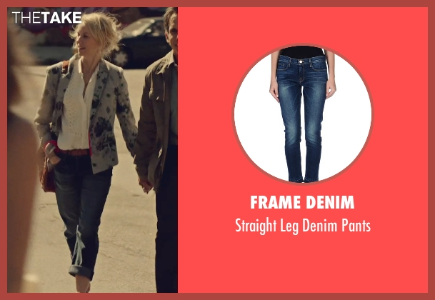 Frame Denim blue pants from While We're Young seen with Naomi Watts (Cornelia)