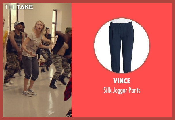 Vince blue pants from While We're Young seen with Naomi Watts (Cornelia)