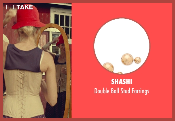 Shashi gold earrings from While We're Young seen with Naomi Watts (Cornelia)