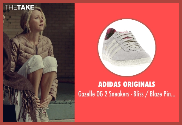 Adidas Originals gray ecru from While We're Young seen with Naomi Watts (Cornelia)