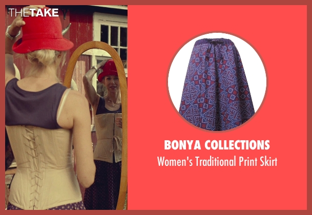 Bonya Collections purple skirt from While We're Young seen with Naomi Watts (Cornelia)