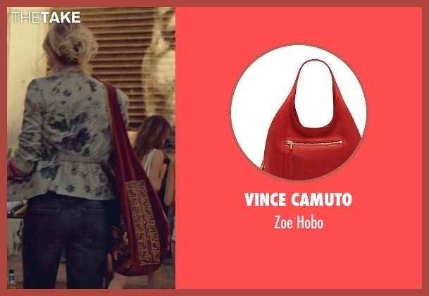 Vince Camuto red hobo from While We're Young seen with Naomi Watts (Cornelia)