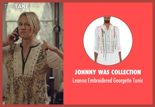 Johnny Was Collection tunic from While We're Young seen with Naomi Watts (Cornelia)