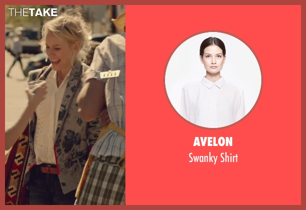 Avelon white shirt from While We're Young seen with Naomi Watts (Cornelia)