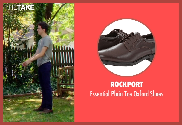Rockport brown shoes from Ashby seen with Nat Wolff (Ed Wallis)