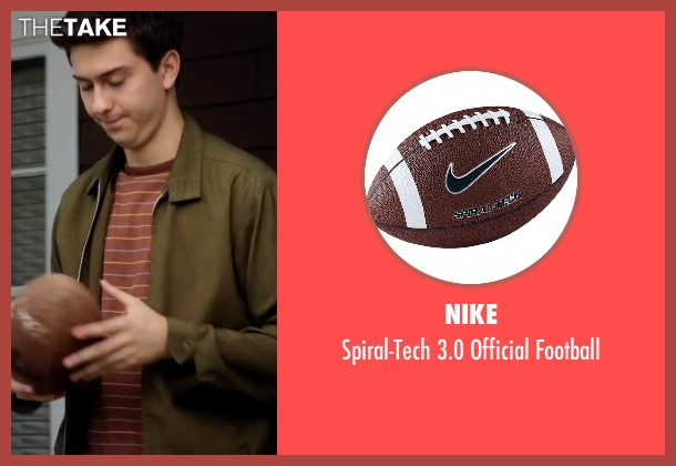 Nike football from Ashby seen with Nat Wolff (Ed Wallis)