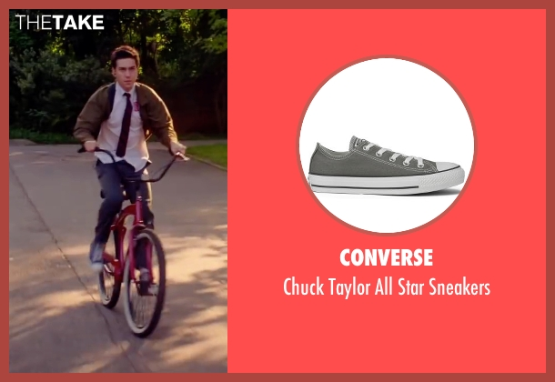 Converse gray sneakers from Ashby seen with Nat Wolff (Ed Wallis)