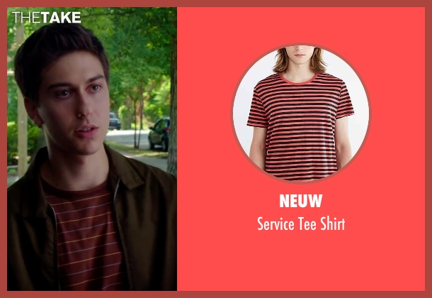 Neuw red shirt from Ashby seen with Nat Wolff (Ed Wallis)