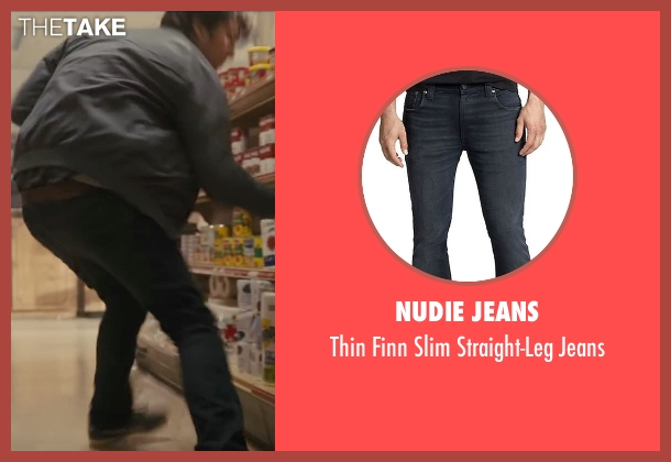 Nudie Jeans black jeans from Paper Towns seen with Nat Wolff (Quentin Jacobsen)
