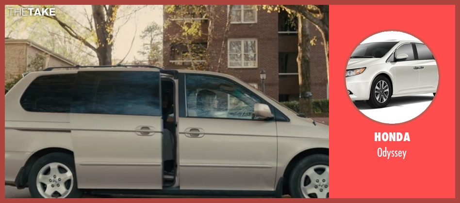 Honda odyssey from Paper Towns seen with Nat Wolff (Quentin Jacobsen)