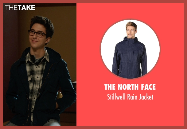 The North Face blue jacket from The Fault In Our Stars seen with Nat Wolff (Isaac)