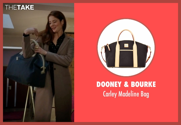 Dooney & Bourke black bag from Guilt seen with Natalie Atwood (Emily Tremaine)