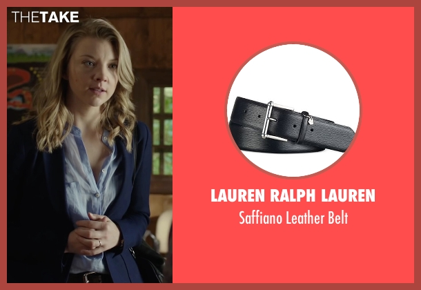 Lauren Ralph Lauren black belt from The Forest seen with Natalie Dormer (Sara)