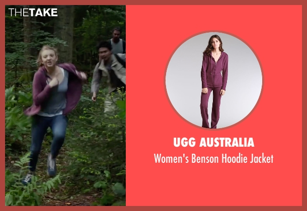 UGG Australia purple jacket from The Forest seen with Natalie Dormer (Sara)