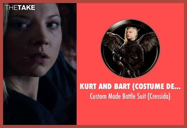 Kurt and Bart (Costume Designer) suit from The Hunger Games: Mockingjay Part 1 seen with Natalie Dormer (Cressida)