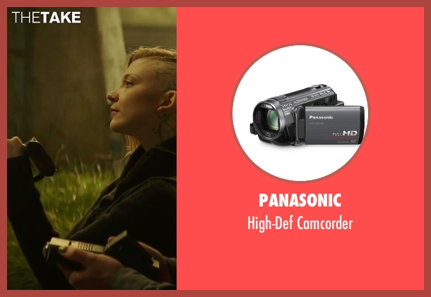 Panasonic camcorder from The Hunger Games: Mockingjay - Part 2 seen with Natalie Dormer (Cressida)