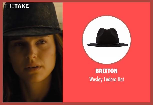 Assembly Label black hat from Jane Got A Gun seen with Natalie Portman (Jane Hammond)