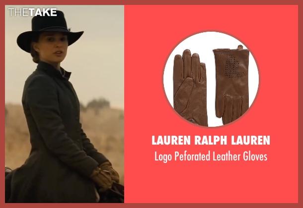 Lauren Ralph Lauren brown gloves from Jane Got A Gun seen with Natalie Portman (Jane Hammond)