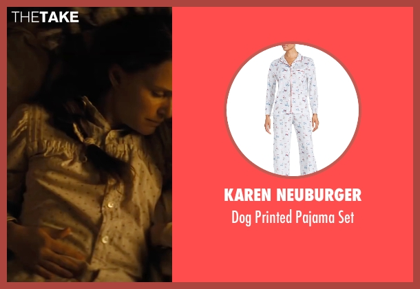 Karen Neuburger white set from Jane Got A Gun seen with Natalie Portman (Jane Hammond)