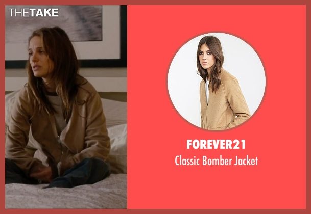 Forever21 brown jacket from No Strings Attached seen with Natalie Portman (Emma)